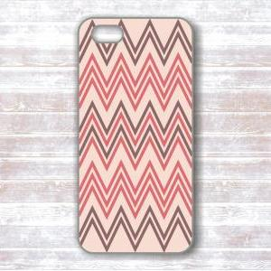 iPhone 4/4S Case - Pink And Gray Ch..