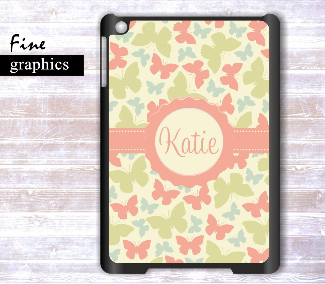 Personalized Ipad mini case- Monogrammed Ipad mini case